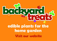 Backyard Treats - edible plants for the home garden